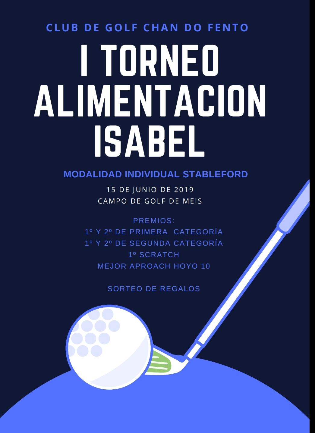 I TORNEO ALIMENTACIÓN ISABEL