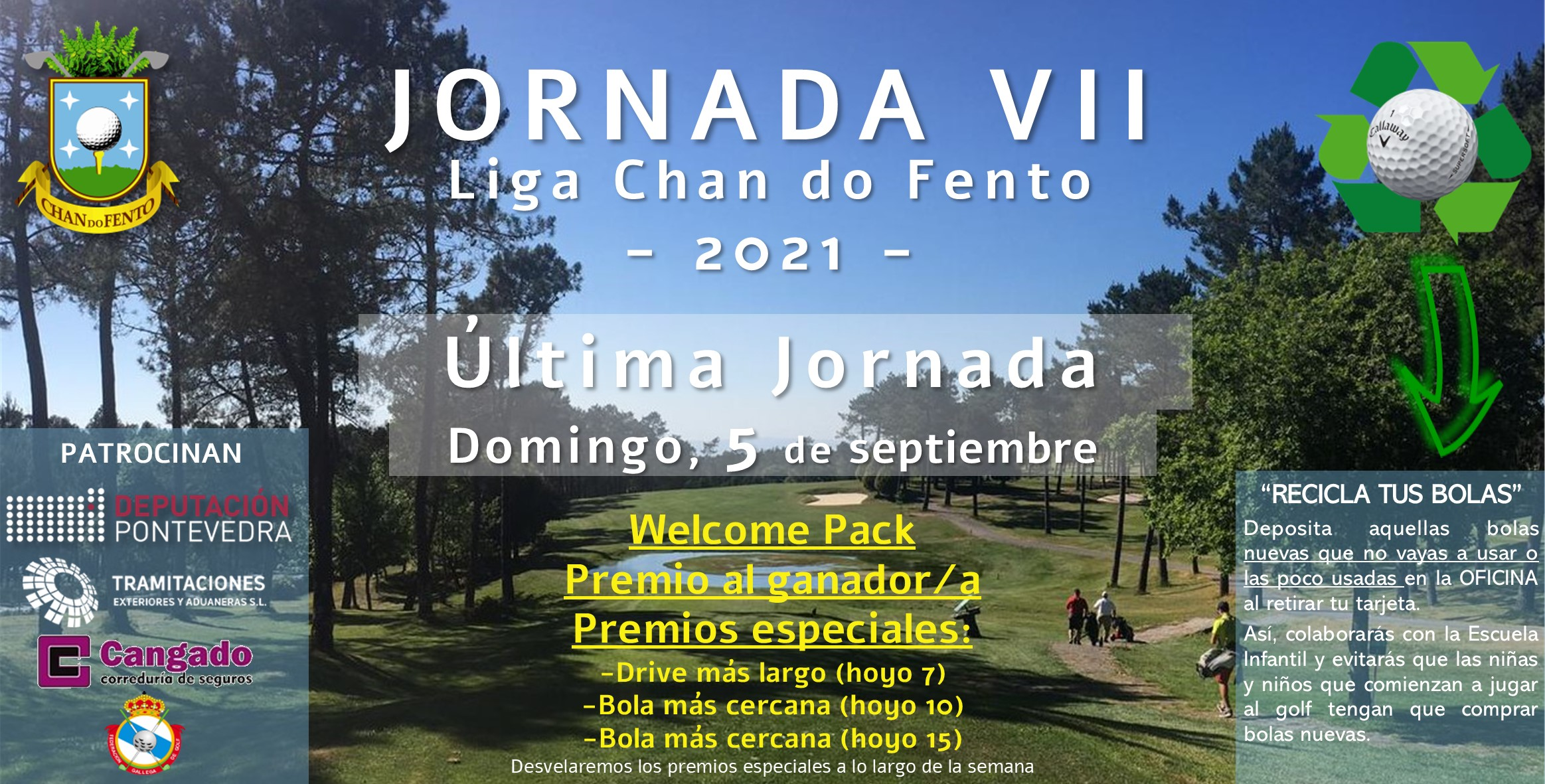 JORNADA 7 – Liga Chan Do Fento – 5 De Septiembre